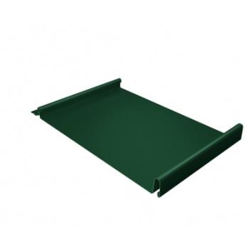Кликфальц 0,5 PE с пленкой на замках RAL 6005 зеленый мох