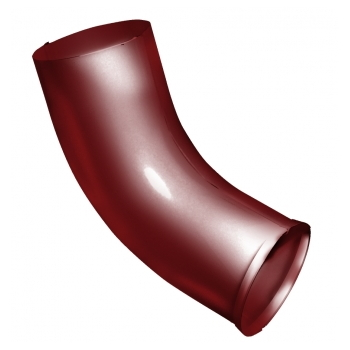 Колено стока Grand line 90 мм RAL 3011 коричнево-красный