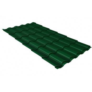 Металлочерепица зеленая
