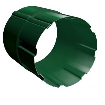 Соединитель трубы Grand Line 90 мм RAL 6005 зеленый мох
