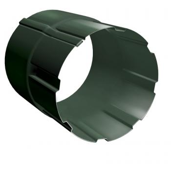 Соединитель трубы Grand Line 90 мм RR 11 темно-зеленый
