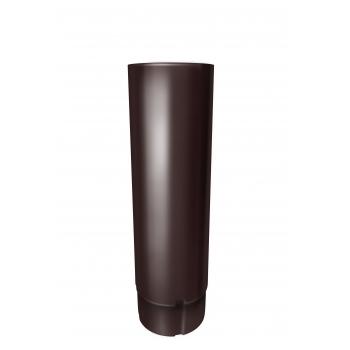 Труба водосточная Grand Line 3 м RAL 8017 шоколад