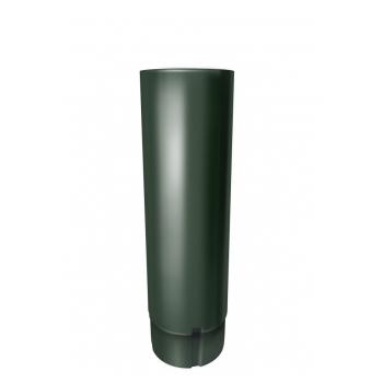 Труба водосточная Grand Line 3 м RR 11 темно-зеленый