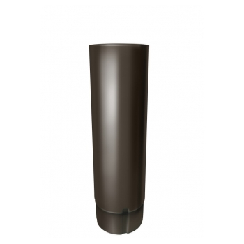 Труба водосточная Grand Line 3 м RR 32 темно-коричневый