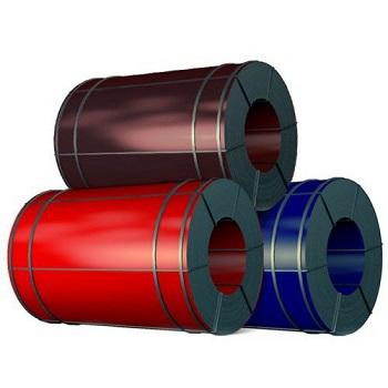 рулон оцинкованный с полимерным покрытием