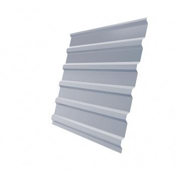 Профнастил С20В RAL 9006 бело-алюминиевый