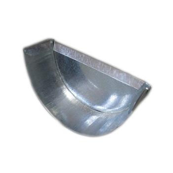 Заглушка желоба 216 мм оцинкованный