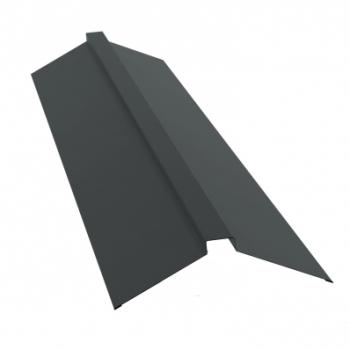 Планка конька полского 115х30х115 Ral 7005 мышино-серый