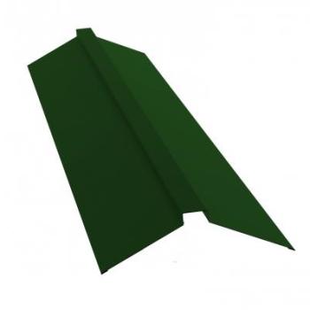 Планка конька полского 150х40х150 Ral 6002 Лиственно зеленый