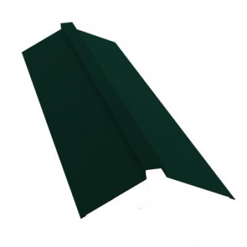 Планка конька полского 150х40х150 Ral 6005 Зеленый мох