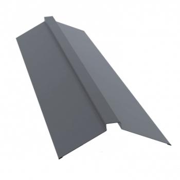 Планка конька плоского 150х40х150