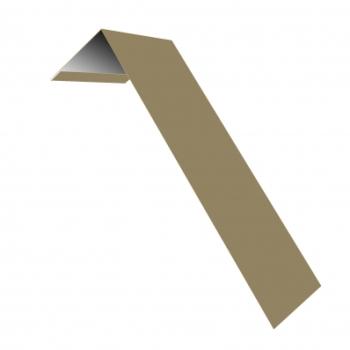 Планка лобовая околооконная простая 190х50 0,45 PE с пленкой RAL 1014 слоновая кость