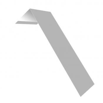 Планка лобовая 190х50 0,45 PE RAL 9003