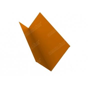Планка примыкания 0,45 PE с пленкой RAL 2004 оранжевый