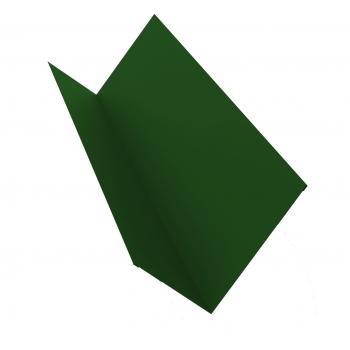 Планка примыкания 0,45 PE с пленкой RAL 6002 лиственно-зеленый