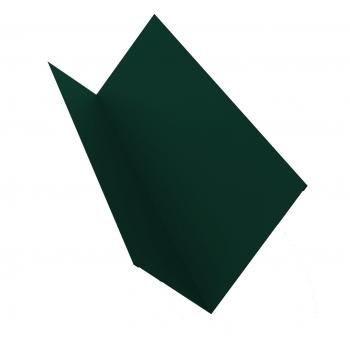 Планка примыкания 0,45 PE с пленкой RAL 6005 зеленый мох