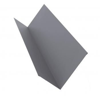 Планка примыкания 0,45 PE с пленкой RAL 7004 сигнальный серый