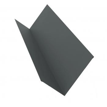 Планка примыкания 0,45 PE с пленкой RAL 7005 мышино-серый