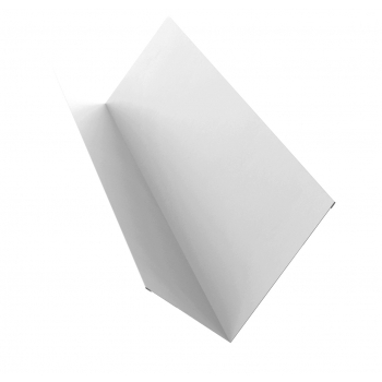 Планка примыкания 0,45 PE с пленкой RAL 9003 сигнальный белый