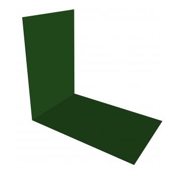 Планка снегозадержания усиливающая 0,45 PE с пленкой RAL 6002 лиственно-зеленый