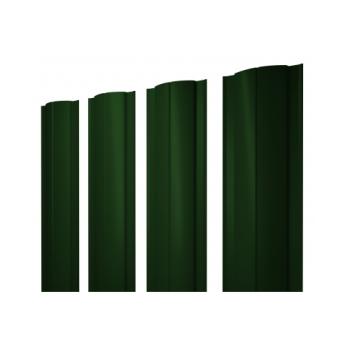 Штакетник Круглый 0,45 PE RAL 6005 зеленый мох