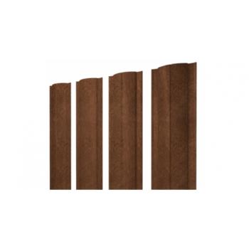 Штакетник Круглый 0,45 Print-Double Antique Wood