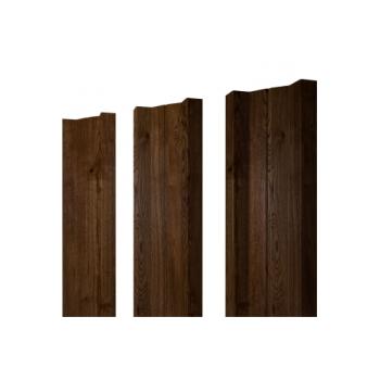Штакетник М-образный А 0,45 Двухсторонний Antique Wood