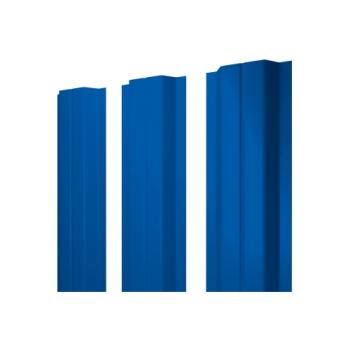 Штакетник П-образный А 0,4 PE RAL 5005 сигнальный синий