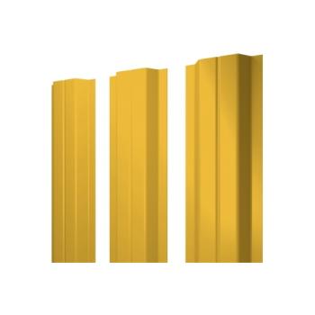 Штакетник П-образный А 0,45 PE RAL 1018 цинково-желтый