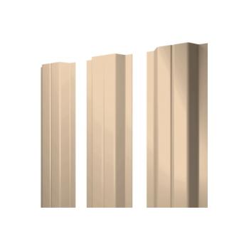 Штакетник П-образный А 0,45 RAL 1015 светлая слоновая кость