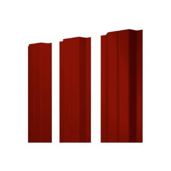 Штакетник П-образный А 0,45RAL 3009 оксидно-красный
