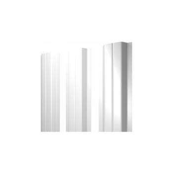 Штакетник П-образный А0,45 RAL 9003 сигнальный белый