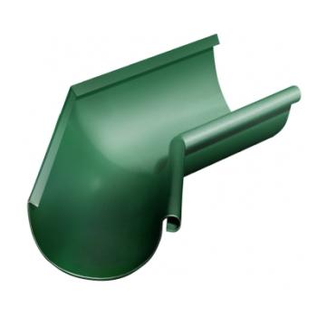 Угол желоба внутренний 135 гр 125 мм RAL 6005 зеленый мох