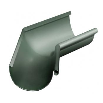 Угол желоба внутренний 135 гр 125 мм RR 11 темно-зеленый