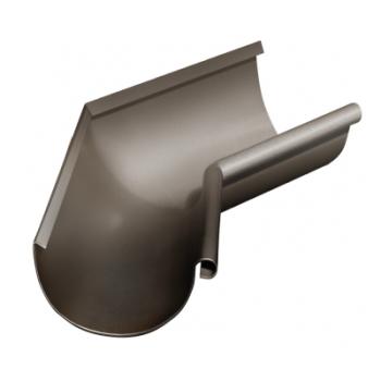 Угол желоба внутренний 135 гр 125 мм RR 32 темно-коричневый