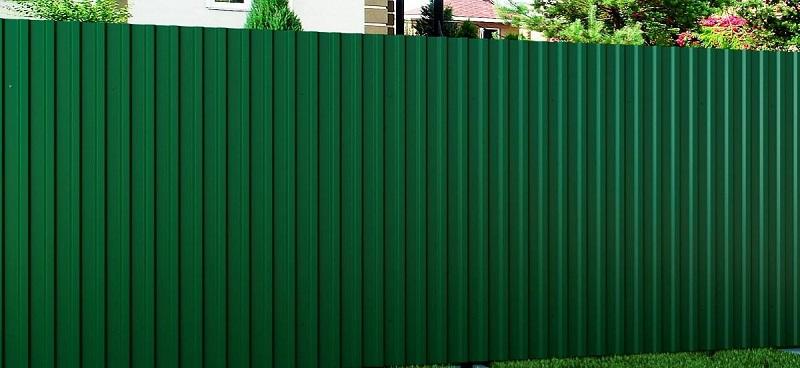 забор из профнастила С20