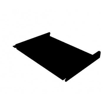 Кликфальц 0,45 PE с пленкой на замках RAL 9005 черная