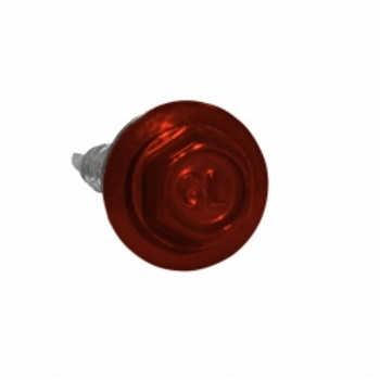 Саморезы 4.8х29 RAL 3009 Красный оксид