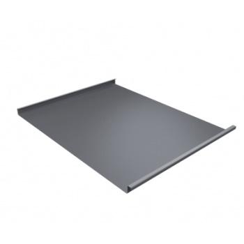 Фальц двойной стоячий Ral 9006 бело-алюминиевый