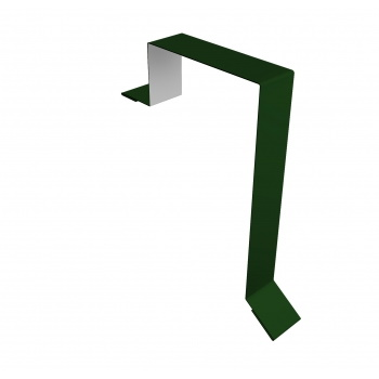 Планка торцевая фальц 60х97 RAL 6002 лиственно-зеленый