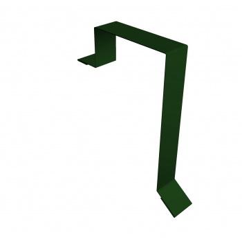 Планка торцевая фальц 60х97 RAL 6005 зеленый мох
