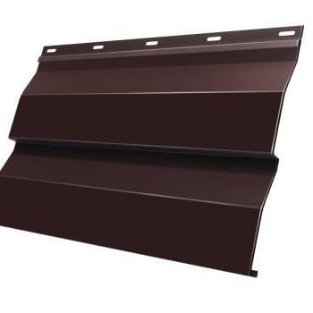 Корабельная Доска 0,265 Grand Line 0,5 Rooftop Matte RAL 8017 шоколад