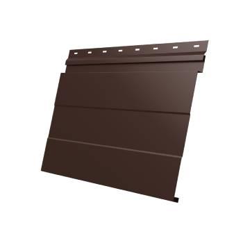 Фасадная панель 0,45 Drap RAL 8017 шоколад