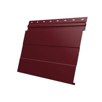 Фасадная панель 0,45 PE RAL 3005 красное вино