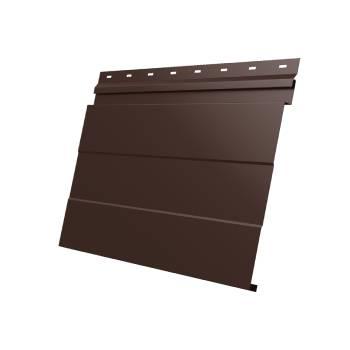 Фасадная панель 0,45 PE-foil RAL 8017 шоколад