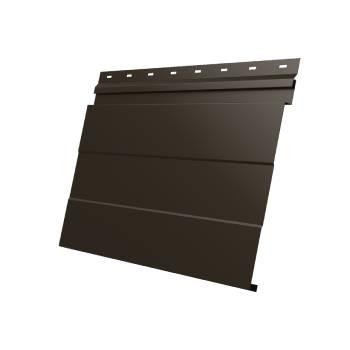 Фасадная панель 0,45 PE-foil RR 32 темно-коричневый