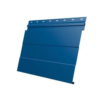 Фасадная панель 0,45 PE с пленкой RAL 5005 сигнальный синий