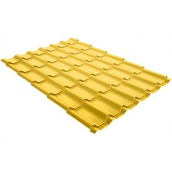 Металлочерепица классик PE RAL 1018 цинково-желтый