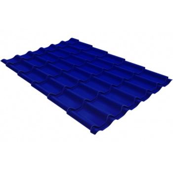 Металлочерепица классик PE RAL 5002 ультрамариново-синий
