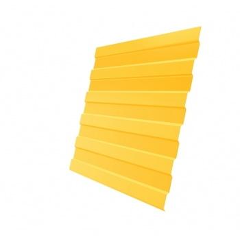 Профнастил С8А PE RAL 1018 цинково-желтый